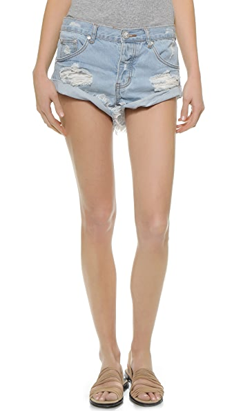 Shopbop One Teaspoon Shorts One Teaspoon The Beauty