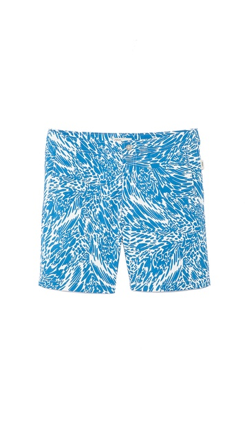 Onia Wave Print Calder Trunks
