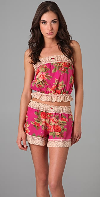 Only Hearts Last Rose of Summer Cropped Camisole