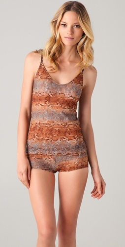 Only Hearts Rosy Boa Convertible Camisole