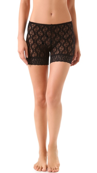 Only Hearts Stretch Lace Mini Bike Shorts
