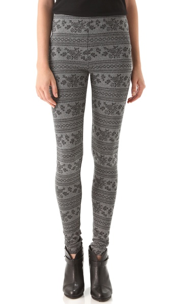 Only Hearts Fair Isle Leggings
