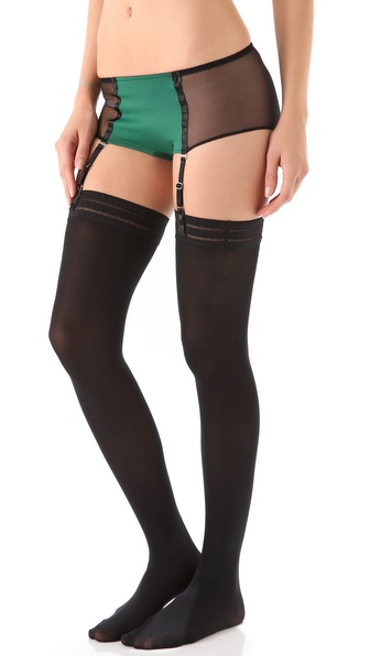 Only Hearts Lou Lou Hipster Briefs with Garters