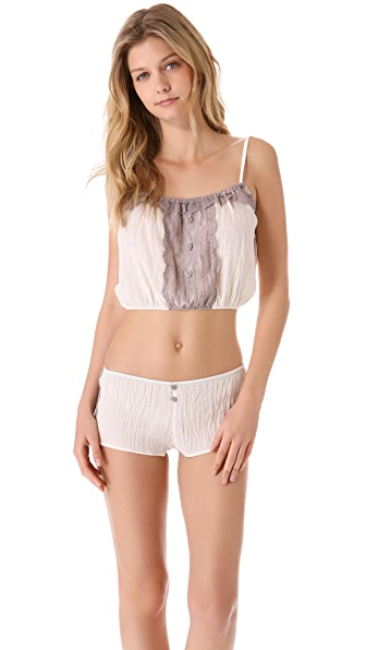 Only Hearts Biscuits for Breakfast Cropped Camisole