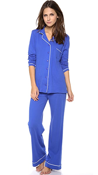 Only Hearts Piped Pajamas