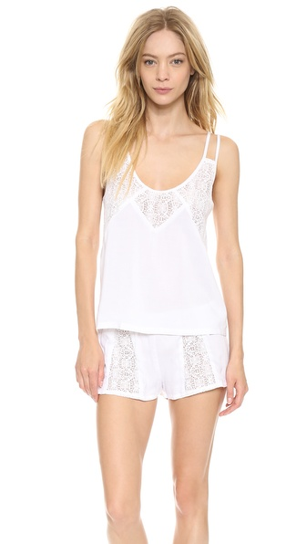 Only Hearts Ramona Lace Inset Tank