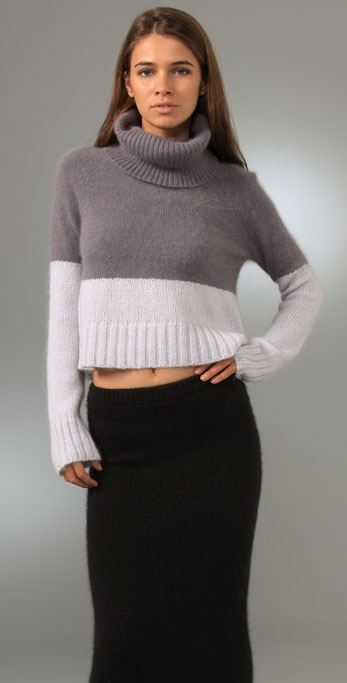 Opening Ceremony Combo Knit Turtleneck