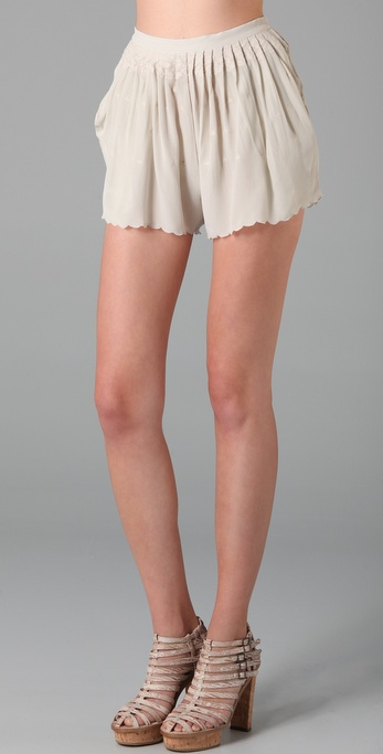 Opening Ceremony Silk Shorts