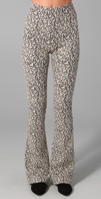 Opening Ceremony Flare Diamond Jacquard Pants