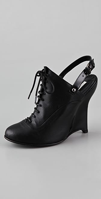 Opening Ceremony Agyness Sling Back Wedge Booties