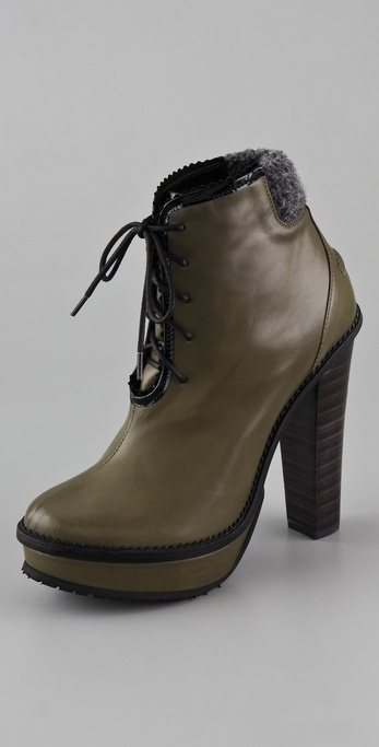 Opening Ceremony Laetitia Platform Lug Booties
