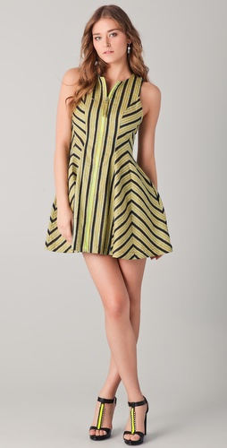 Opening Ceremony Seamed Mini Dress
