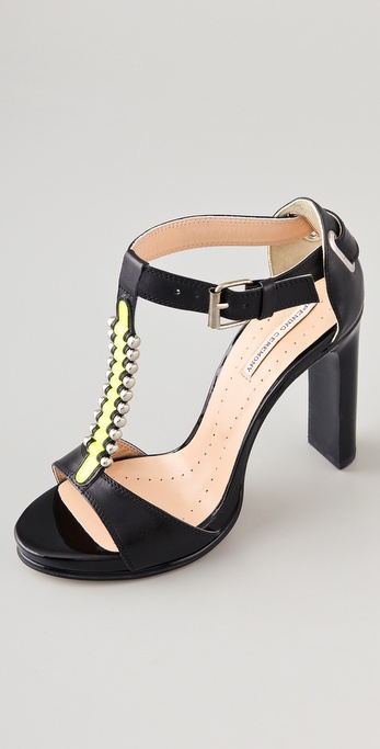 Opening Ceremony Jungle 2 T Strap Sandals
