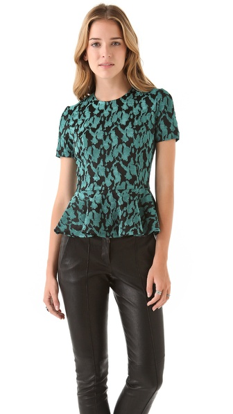 Opening Ceremony Peplum Blouse