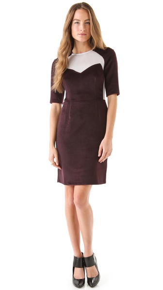 Opening Ceremony Pieced Mesh Dress