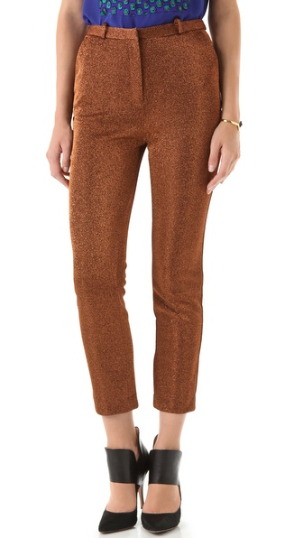 Opening Ceremony Lurex Cropped Trouser