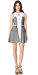 Opening Ceremony Seamed Zip Dress