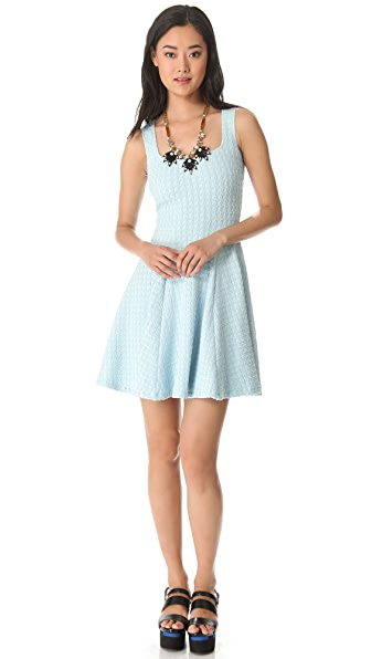 Opening Ceremony Wesson Jersey Flare Dress