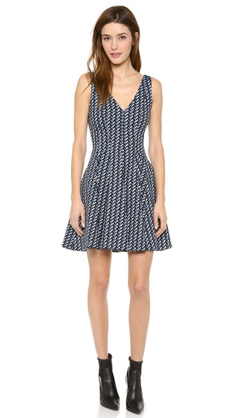 Opening Ceremony Calyx Jacquard Dress