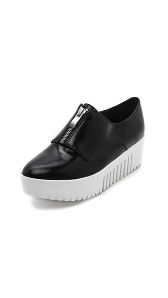 Opening Ceremony Zip Front Platform Oxfords
