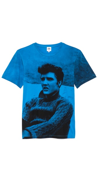 Opening Ceremony Cyan Elvis T-Shirt