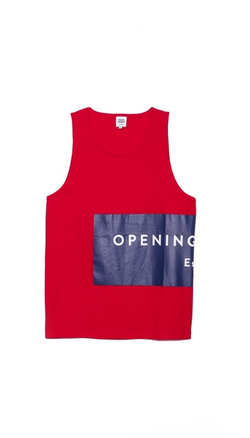 Opening Ceremony Label Logo Tank