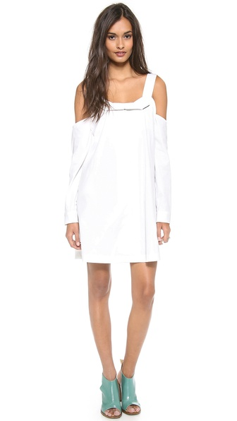 Opening Ceremony Miyah Cutoff Shoulder Dress