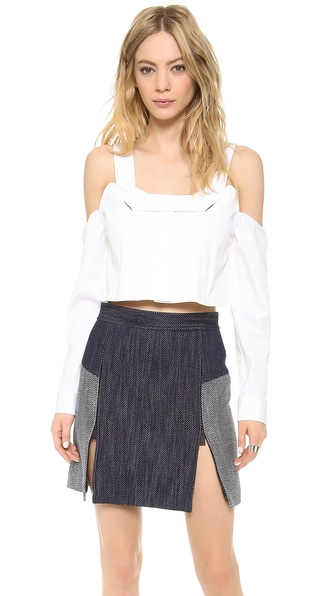 Opening Ceremony Cutoff Shoulder Blouse