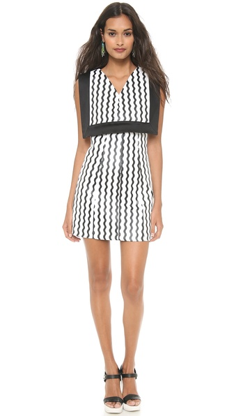Opening Ceremony Square Bodice Dress