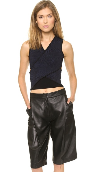 Opening Ceremony Techno Tubular Wrap Top