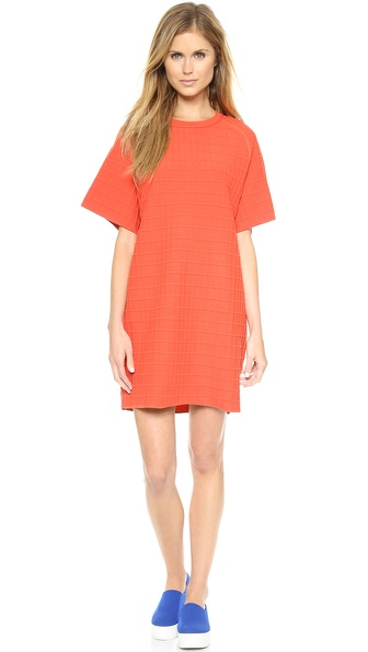 Opening Ceremony Waffle Oversized Dress