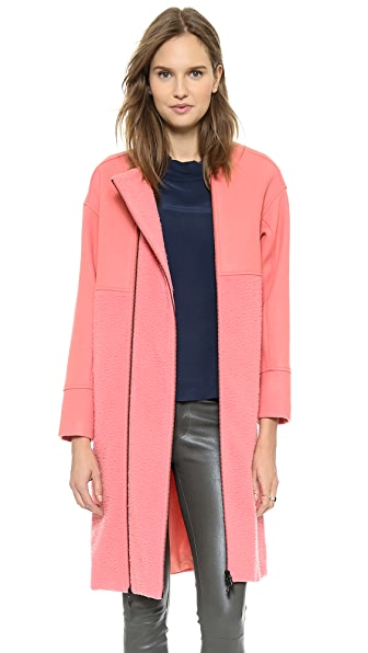 Opening Ceremony Bram Wool Double Zip Coat