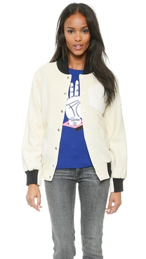 Opening Ceremony Tristan Wool Classic OC Varsity Jacket