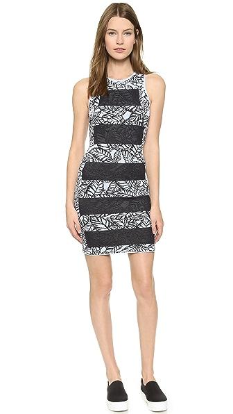 Kupi Opening Ceremony haljinu online i raspordaja za kupiti Opening Ceremony Large Frond Dress Mist Blue Multi online