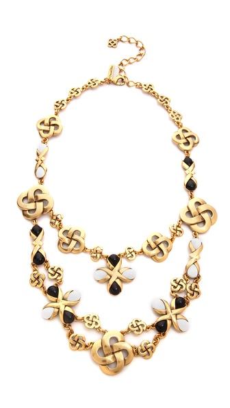 Oscar de la Renta Mosaico Necklace