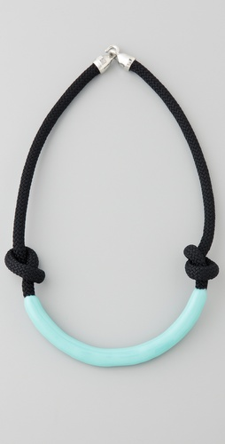 Orly Genger by Jaclyn Mayer Necco Enameled Rope Necklace