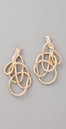 Orly Genger by Jaclyn Mayer Harlequin Earrings