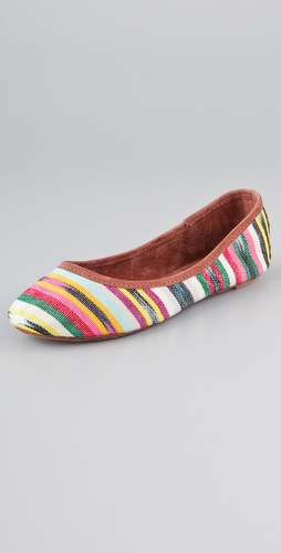 Osborn Stripe Multi Flats