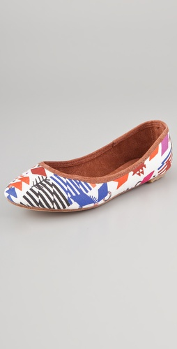 Osborn Hand Patterned Flats