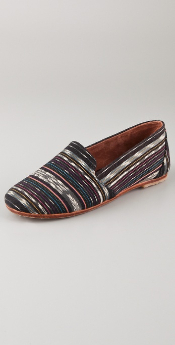 Osborn Black Pattern Loafers