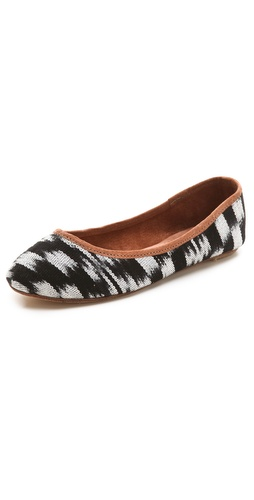 Osborn Printed Ballet Flats