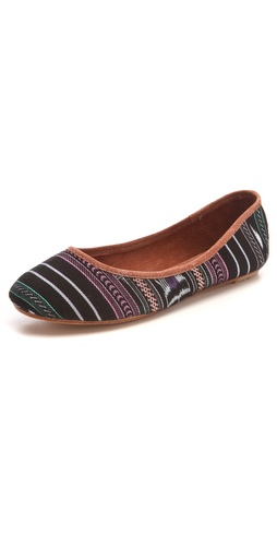 Osborn Print Ballet Flats