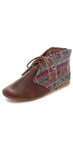 Osborn Lace Up Booties