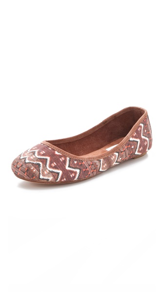 Osborn Brown Pattern Flats