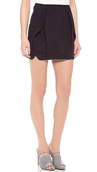 O'2nd Everton Honeycomb Miniskirt