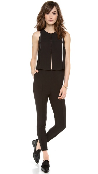 O'2nd Swan Pleat Jumpsuit