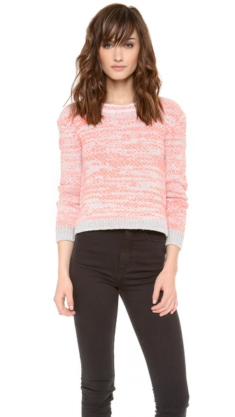 O'2nd Flio Color Mixed Sweater