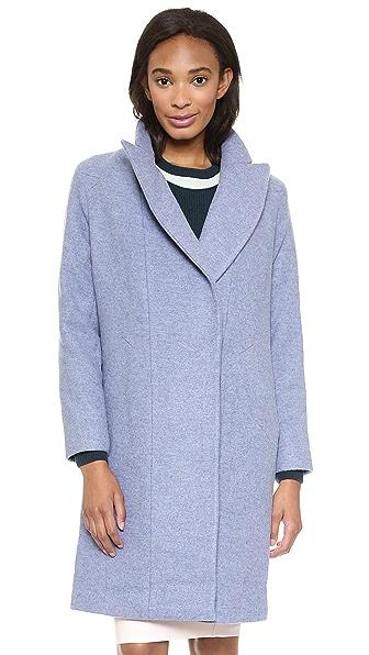 O'2nd Slim Fit Long Wool Coat