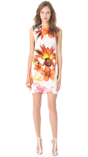 Osklen Prime Print Sleeveless Dress