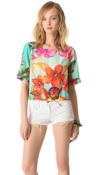 Osklen Flower Print Blouse